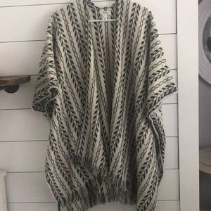 Boho Sweater shrug/wrap/poncho